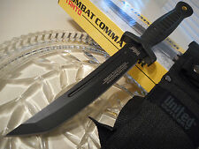 "United Combat Commander Tanto Toothpick Tactical Knife Aus-8 10 1/2"" UC3028 New"