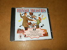 CD (RRR 1020) - various artists - TEENAGE TREASURES