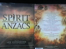 Lee Kernaghan/Spirit of the Anzacs Deluxe Edition George Sheppard ovp 2/CD