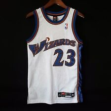 100% Authentic Michael Jordan Washington Wizards NBA Nike Jersey Sz 36 S