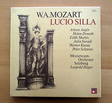 Mozart Lucio Silla Auger Donath Mathis Hager 4xLP NEAR MINT BASF 78 22472-4