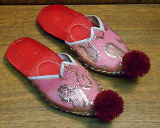 Girls Child's Size 6 or 9 Thai Ceremonial Slippers / Shoes