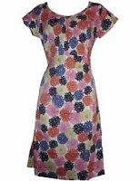 NEW LADIES BODEN FLORAL PRINTED COTTON TUNIC DRESS SIZE 8 10 12 14 16 18 BNWOT