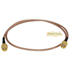 RF Coaxial RP-SMA Male to RP SMA Male Extension Pigtail Adapter Cable RG316 50cm