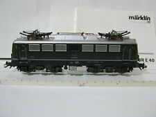 Digital Märklin HO 29855 Elektro Lok BtrNr E 40 072 DB Sound (RG/BS/128-83S4/38)