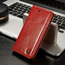Cover Wallet Flip Case Smartphone Leather Synthetic Sleeve Bumper Pouch Back New