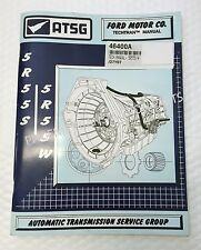 5R55W 5R55S Transmission ATSG Technical Manual 1999 and Up for Ford