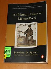 The Memory Palace of Matteo Ricci by Jonathan D. Spence (1985, Paperback)