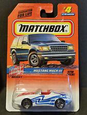 1998 Matchbox Stars & Stripes Series 1 4/75 Mustang Mach III