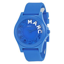 Marc By Marc Jacobs Sloane Blue Dial Blue Silicone Ladies Watch MBM4024