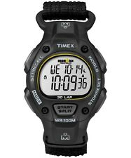 TIMEX T5K693JV IRONMAN CLASSIC 30 STOP WATCH BLACK YELLOW WATERPROOF INDIGLO NEW