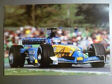 2003 Renault Mild Seven Formula 1 Race Car Picture, Prin,t Poster RARE!! Awesome
