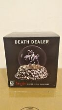 *DEATH DEALER SNOWGLOBE FRANK FRAZETTA STATUE DARK HORSE HEAVY METAL BATMAN DC