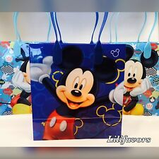 12 PCS Mickey Mouse Candy Goodie Bags Party Favors Candy Loot Treat Birthday Bag