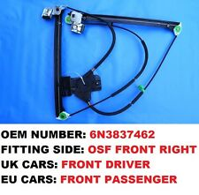 2/3 DOOR ELECTRIC WINDOW REGULATOR FIT UK MARKET VOLKSWAGEN POLO 6N