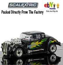 ALL NEW SCALEXTRIC Slot Car  QUICK BUILD Hot Rod C3708