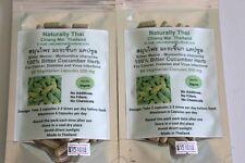 Orgánica Pepino amargo (melón amargo) 100% - 350mg x120 Cápsulas Veg