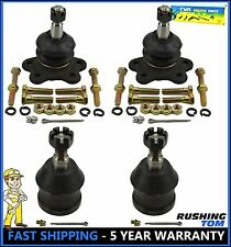 4pc Upper & Lower Ball Joint CHEVY GMC C1500 C2500 Suburban 88-92 Right and Left