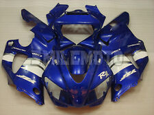 Fairing Blue White ABS Injection Plastic Set Fit for 1998 1999 Yamaha YZF-R1 a05