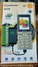 Muphone m370 3 sim triple sim mobile ez-fm 3200 mah its also a  powerbank power