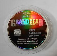 MONOFILO OKUMA GRAND GEAR 0,26 MM 5,50 KG 12,10 LB 150 MT NEUTRO TRASPARENTE