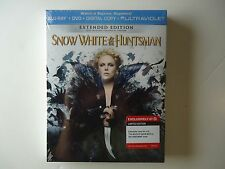 Snow White and the Huntsman (Blu-ray/DVD, 2-Disc) NEW Target w/Charlize Theron