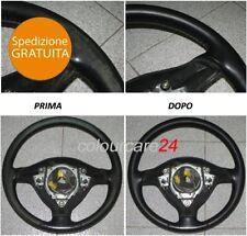 Kit Rinnova Colore Volante Pelle Peugeot NERO Ritocco 207 CC Interni Cabrio 307