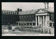 LONDON Royal Hospital Chelsea Pensioners Tuck RP PPC c1960s?
