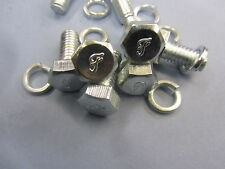FORD GPW F MARKED FOOT REST BOLTS SET OF 8 INCLUDES BOTH 5/8 AND 3/4