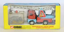 CORGI 1144 CHIPPERFIELDS CIRCUS SCAMMELL CRANE WITH CAGE VERY NEAR MINT BOXED