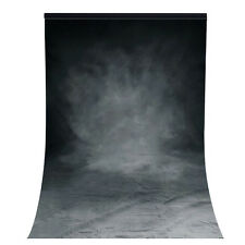 5x7ft Gray Backdrop Muslin Photo Background Photography Grey Studio Cloth Black