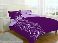 Duvet Cover with Pillowcase Quilt Cover Bedding Set Single Double King All Size