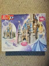 Pre Owned Disney Puzz3D Cinderella's Castle.  400 Piece ? Castle.