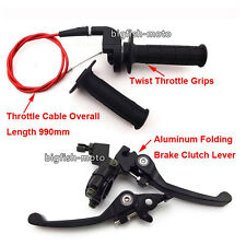 Throttle Brake Lever Cable For Chinese Honda CRF50 Dirt Pit Bike 125cc SSR Lifan