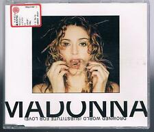 MADONNA DROWNED WORLD (SUBSTITUTE FOR LOVE) 3 TRACKS CD
