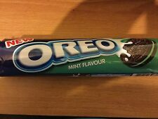 NEW 154g PACK OF OREO MINT FLAVOUR BISCUITS/COOKIES, UK SELLER, POST WORLDWIDE
