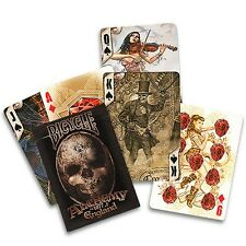 New Alchemy 1977 Deck - Bicycle by Anne Stokes Poker Spielkarten