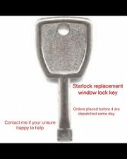 Starlock replacement window lock key *LOST YOUR WINDOW KEYS LET ME HELP*