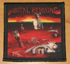 "VITAL REMAINS ""LET US PRAY"" silk screen PATCH"
