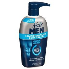 Nair For Men Hair Removal Body Cream 13 oz (Pack of 2)