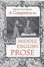 A Companion to Middle English Prose, A. S. G. Edwards