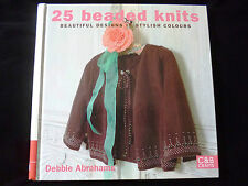 25 Beaded Knits by Debbie Abrahams - Beautiful Knits in Stylish Colours SALE