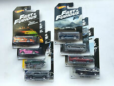 Hot Wheels Fast And Furious 7 Collection 8 Cars