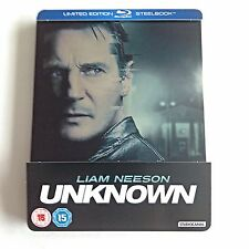 Unknown Blu-Ray Steelbook [U.K.] Ultra Limited Edition 2,000 Printed Worldwide!