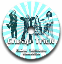 CHEAP TRICK ROCK GUITAR TABS TABLATURE SONG BOOK SOFTWARE CD