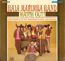 """BAJA MARIMBA BAND """"WATCH OUT"""" LATIN 60'S LP"""