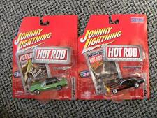 1971 PLYMOUTH ROAD RUNNER & 1968 MERCURY COUGAR  JOHNNY LIGHTNING HOT ROD   1:64