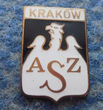 AZS KRAKOW POLAND BASKETBALL CLUB BIG BRONZE VERSION ENAMEL PIN BADGE