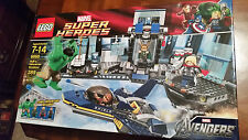 LEGO Marvel Super Heroes 6868 Hulk's Helicarrier Breakout New in sealed box