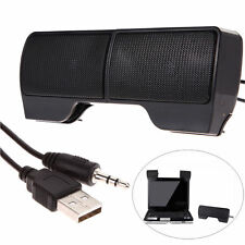 Mini Portable USB Stereo Speaker Sound Bar for Notebook Laptop Mp3 Cell Phone PC